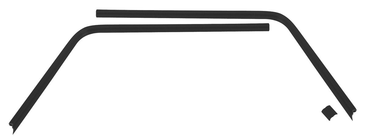 Trim Parts Headliner Seal Strip, Plastic Interior Rear
