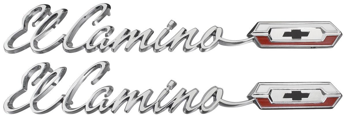 1965 El Camino Quarter Panel Emblem, 1965