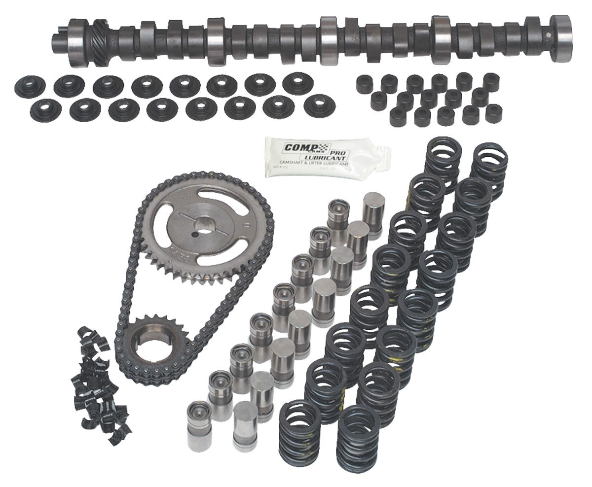 Comp Cams Gto Camshaft K Kit Hydraulic Flat Tappet Xe 262h Fits 74 Gto Opgi