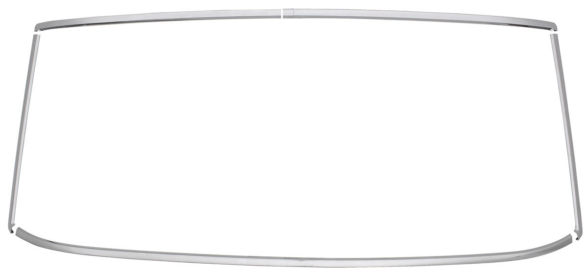 RESTOPARTS 1964-65 GTO Window Reveal Molding Sets, Rear 2
