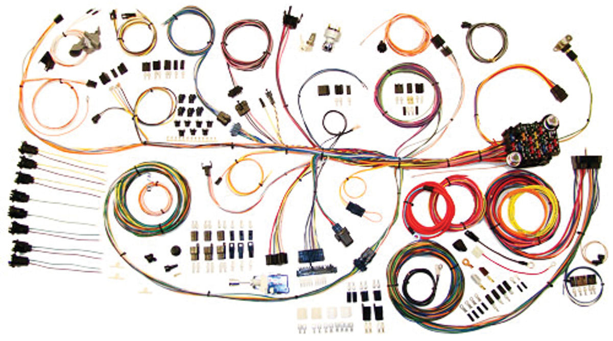Wiring Diagram 1964 Pontiac Gto American Autowire 1964 67 Gto Wiring Kit Classic Update