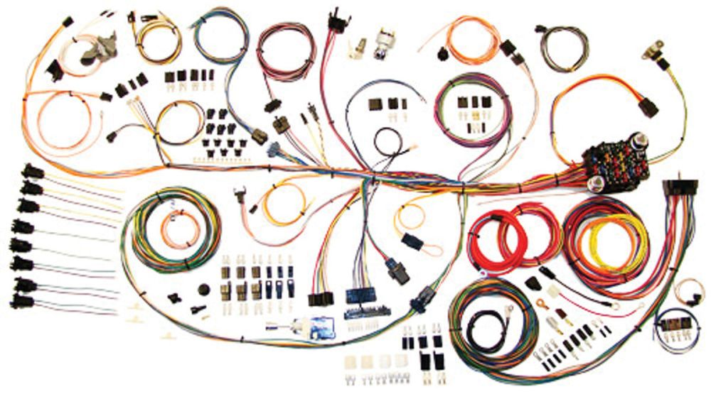 medium resolution of american autowire 1964 1967 gto wiring kit classic update opgi com 65 gto pro street 65 gto wiring harness
