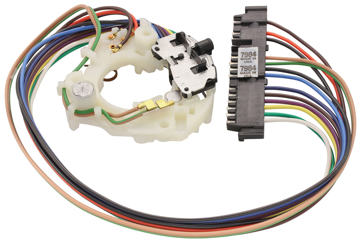 GTO Turn Signal & Hazard Light Switch Assembly all wcornering lamps Fits 196973 GTO @ OPGI