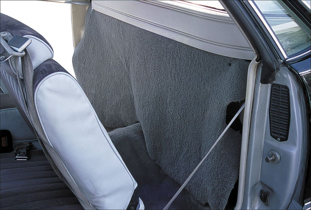 medium resolution of 1974 77 cargo curtain rear el camino