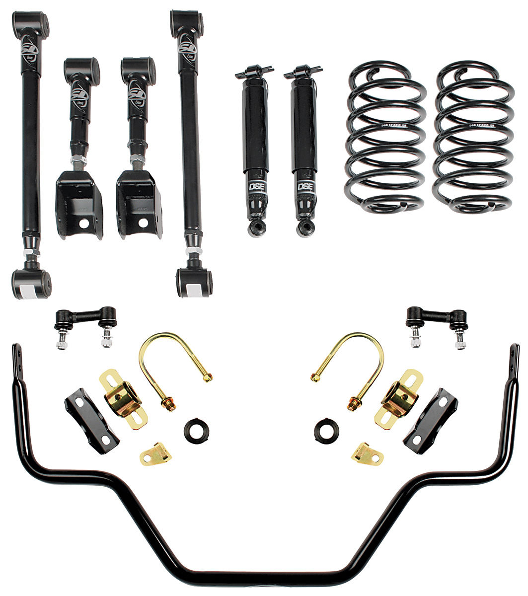 Detroit Speed El Camino Suspension Speed 2 Kit, Rear Fits