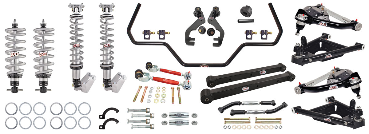 Drag Race Suspension Kits, G-Body, QA1 With Shocks level 2