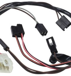 1966 1967 gto air conditioning extension harness blower switch under dash [ 1200 x 835 Pixel ]
