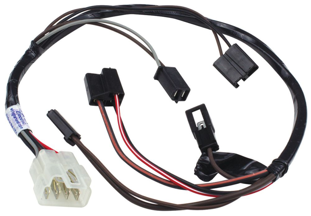 medium resolution of 1966 1967 gto air conditioning extension harness blower switch under dash