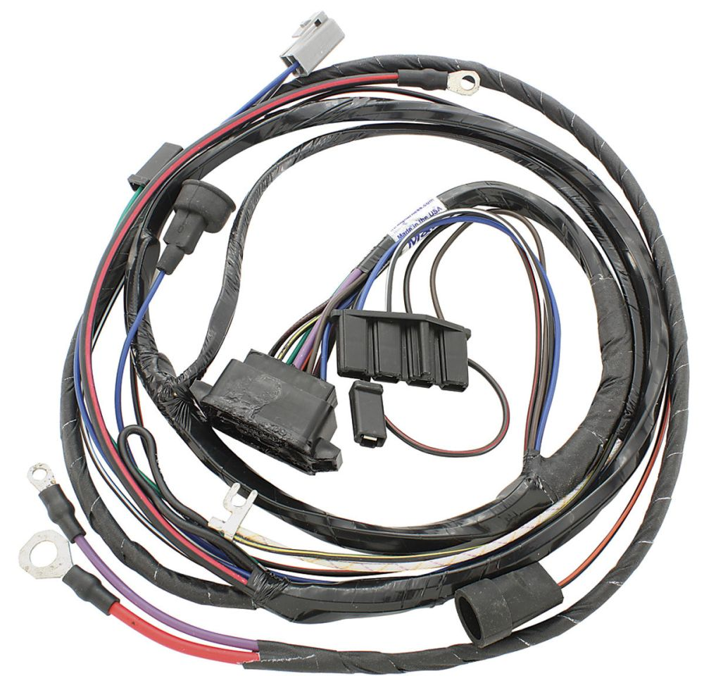 medium resolution of m h 1967 gto engine harness v8 w ram air opgi com 67 nova wiring harness 67 gto engine wiring harness