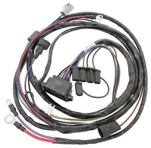small resolution of m h 1967 gto engine harness v8 w ram air opgi com 67 nova wiring harness 67 gto engine wiring harness