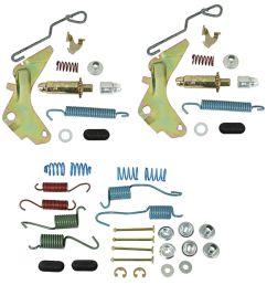 chevelle drum brake hardware 1964 77 front rear 9 5  [ 1153 x 1200 Pixel ]