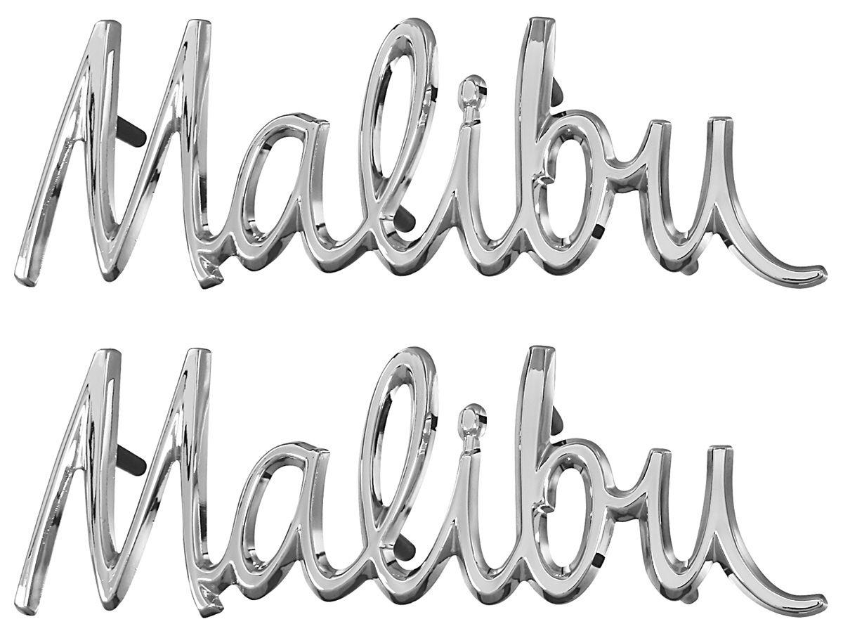 Trim Parts Fender Emblem Malibu Opgi