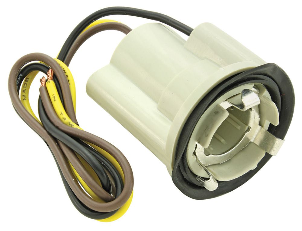 medium resolution of home tail light socket and wire replacement wiring diagram for you chevelle light socket park