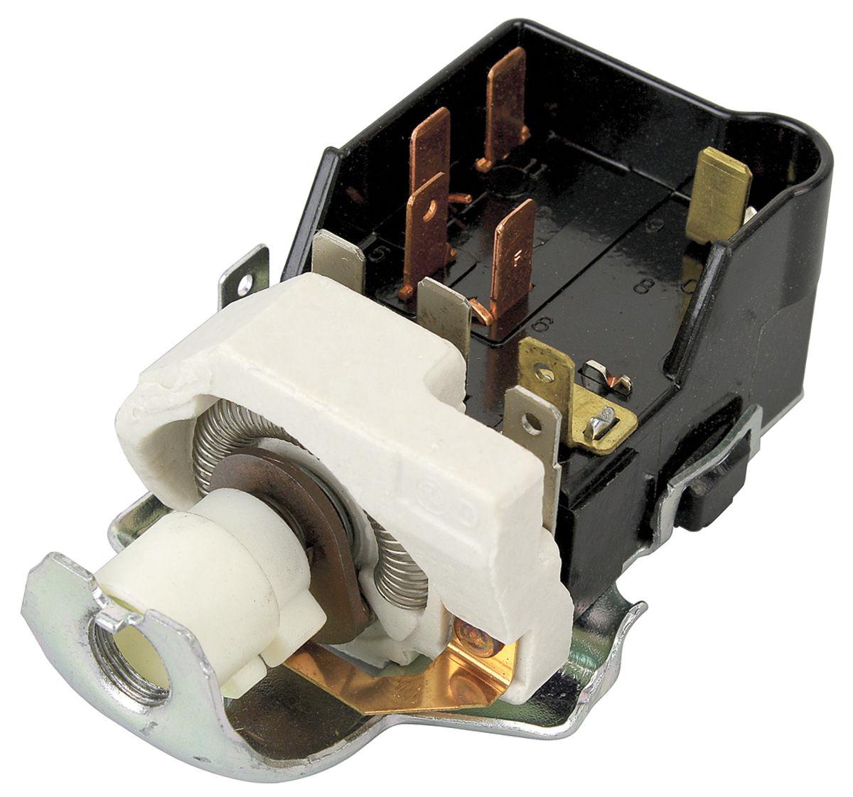 Pontiac Gto Wiring Diagram Gto Headlight Switch W O Hideaway Fits 1968 73 Gto Opgi Com