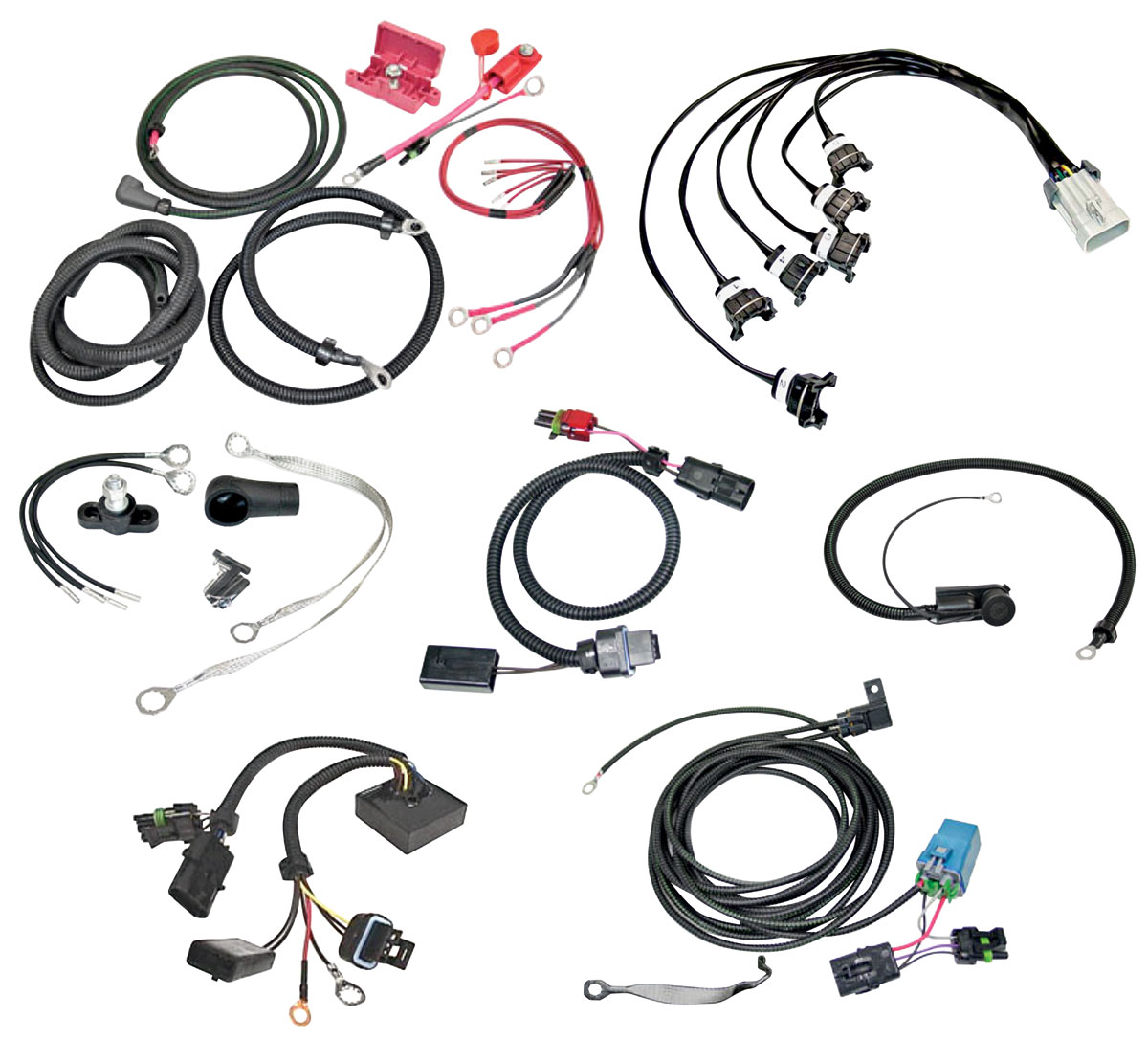 Harness, Wiring Upgrade Set Fits 1986-87 T-Type @ OPGI.com