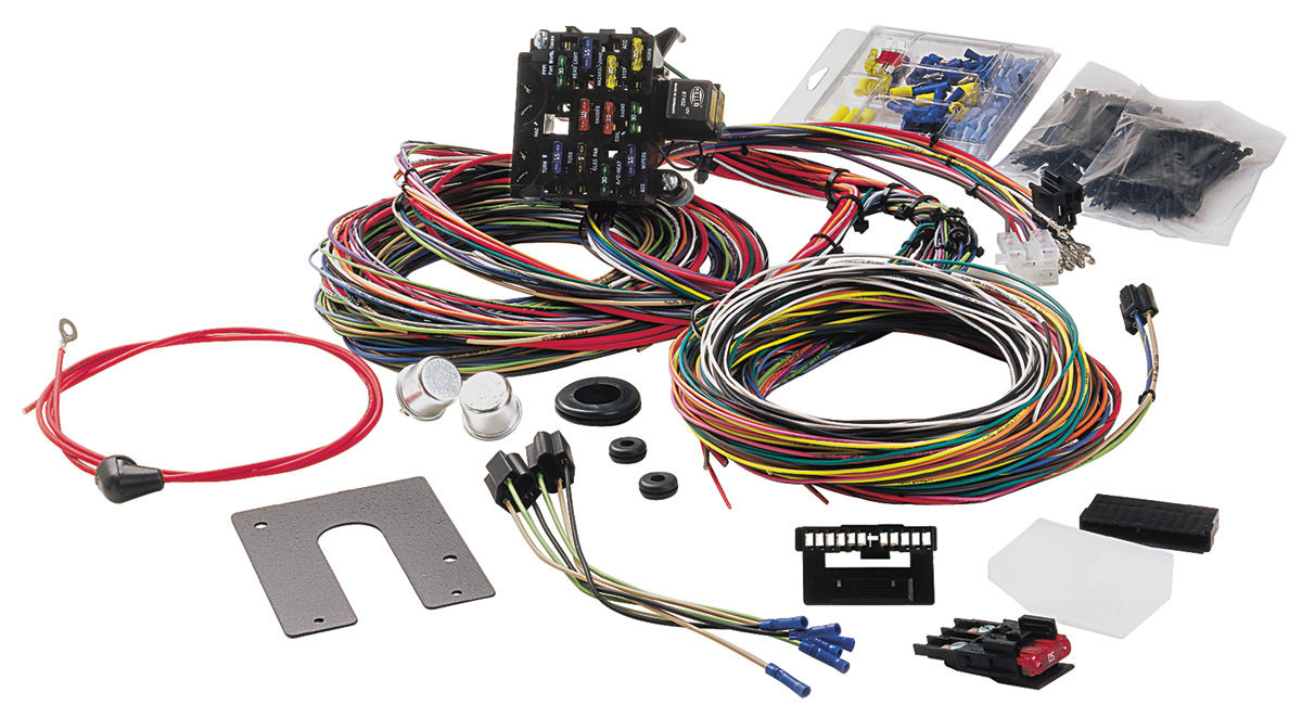 hight resolution of painless performance 1969 72 cutlass 442 wiring harness 21 circuit rh opgi com 1969 mustang wiring