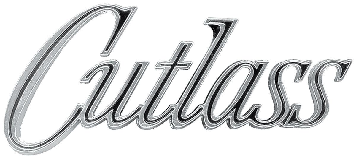 Emblem, Fender, 1970 Cutlass/Supreme