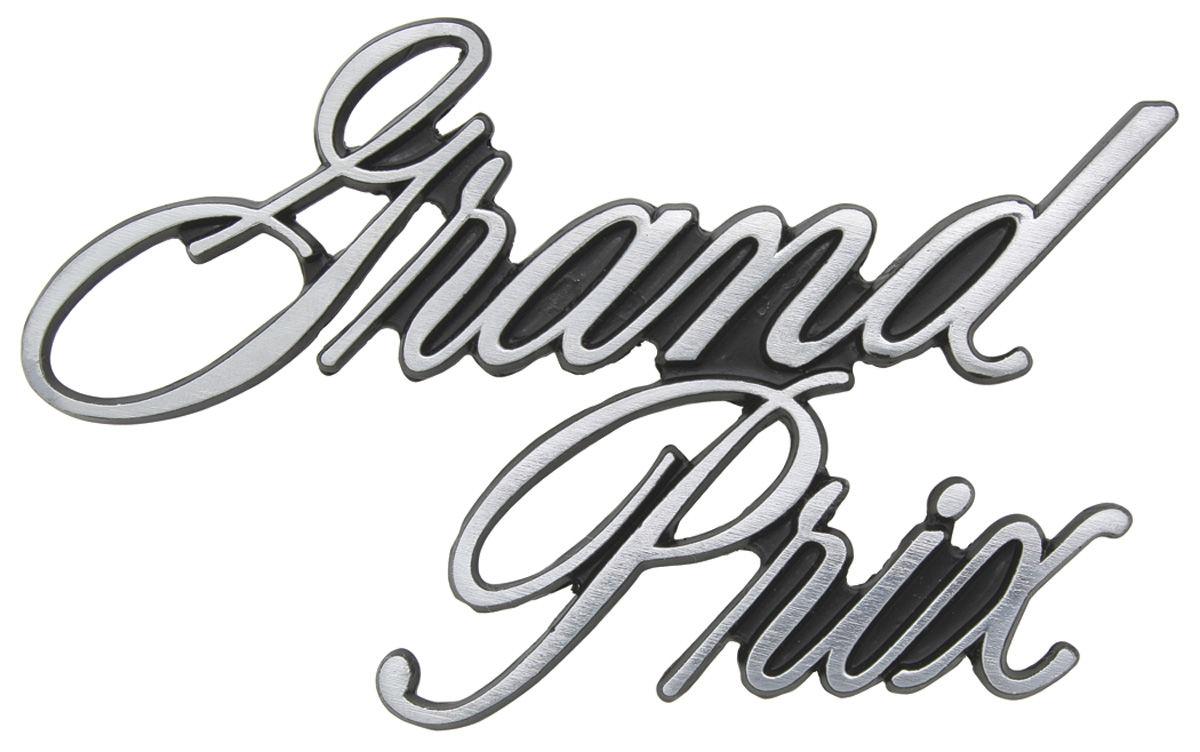 Emblem, Header Panel, 1971-72 Grand Prix @ OPGI.com