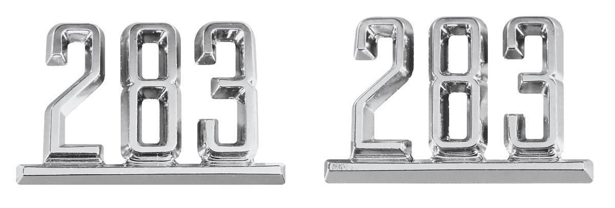 Emblem, Fender, 1965-67 Chevelle/El Camino, 283 @ OPGI.com