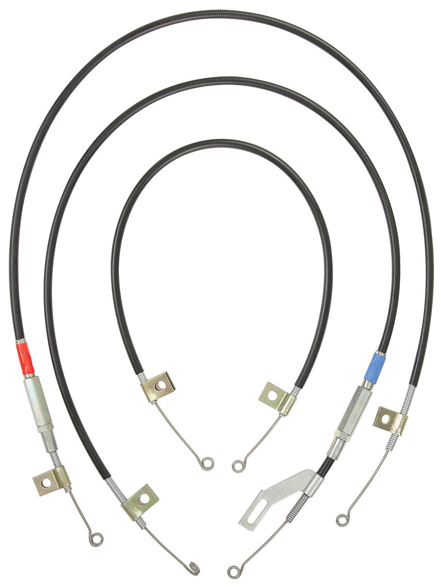 Heater/AC Control Cables, 1966-68 Skylark, 3pc
