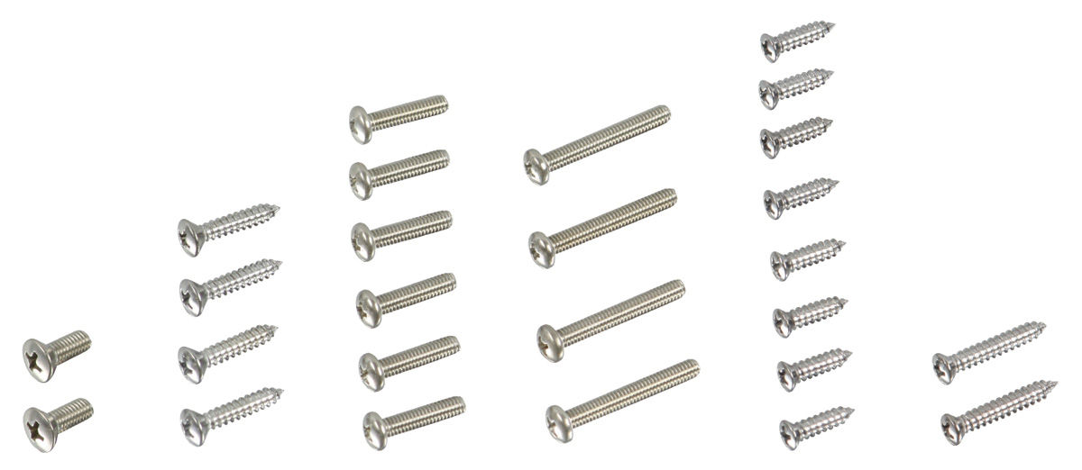 Screw Kit, Exterior, 1965 Chevelle @ OPGI.com