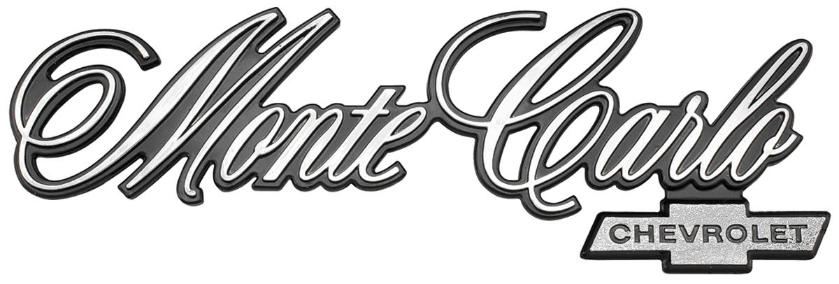 Emblem, Rear Panel, 1976-77 Monte Carlo @ OPGI.com