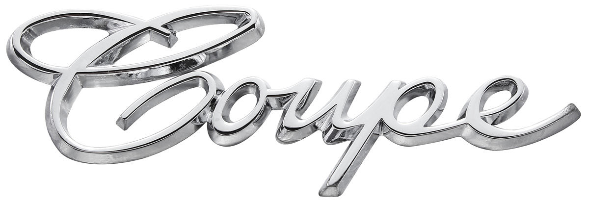 Emblem, 1965-70 Cadillac Coupe Quarter Panel Script