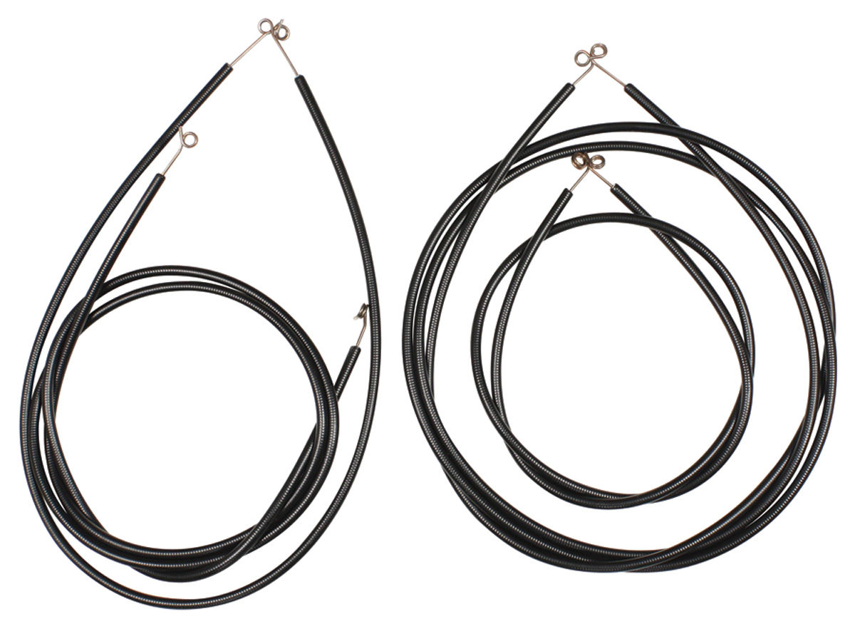 Heater Control Cables, 1954-56 Cadillac, 4pc