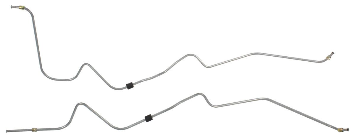 Transmission Cooler Line, TH400, 1968-72 Pontiac A-Body, 5