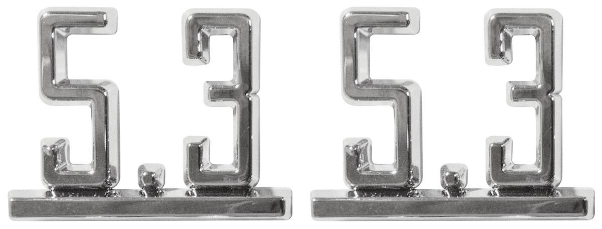 Emblem, Fender, 1965-67 Chevelle/El Camino, 5.3