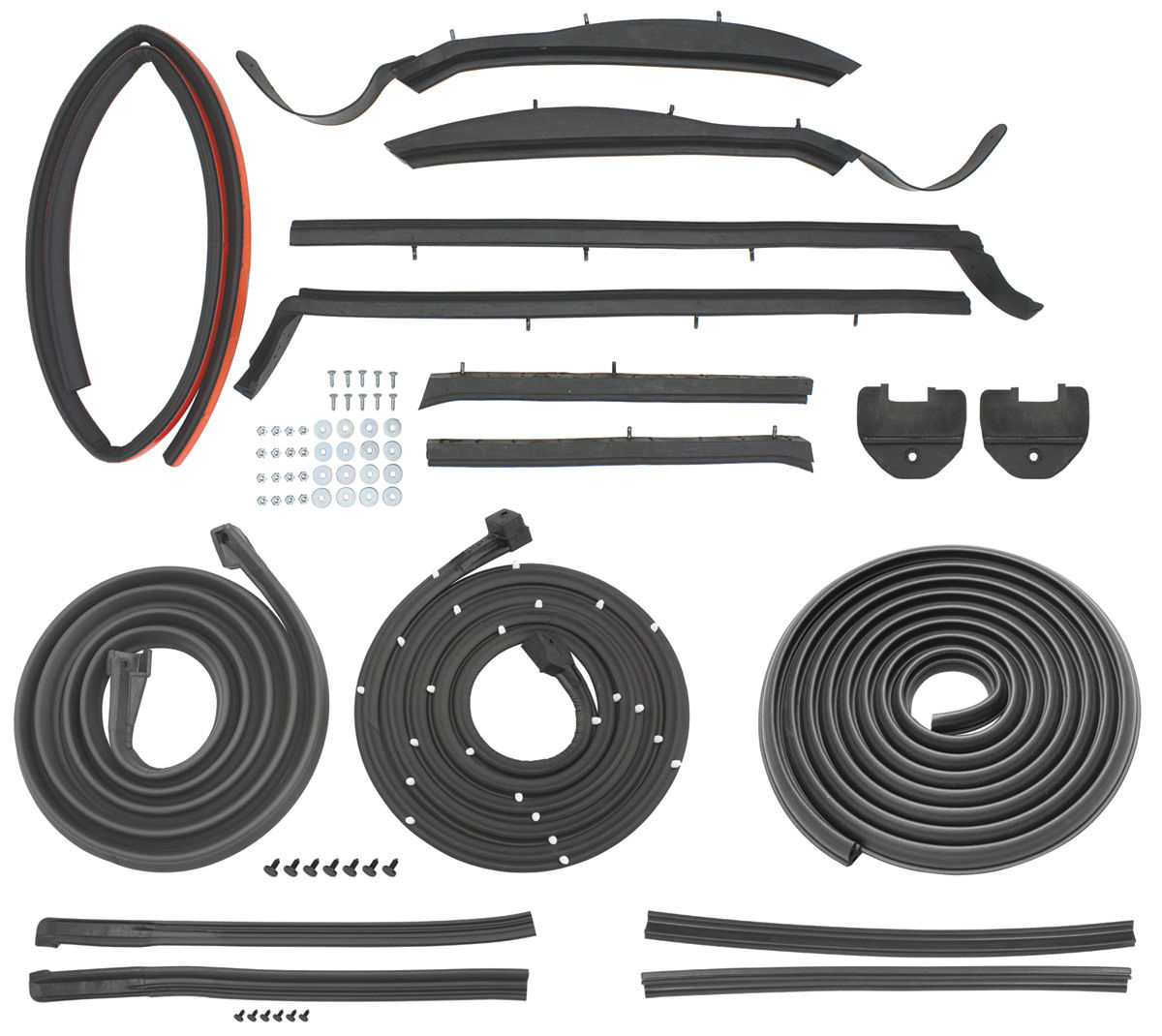 Seal Kit, 1967-68 Bonneville/Catalina/GP Stage I, Conv, 3