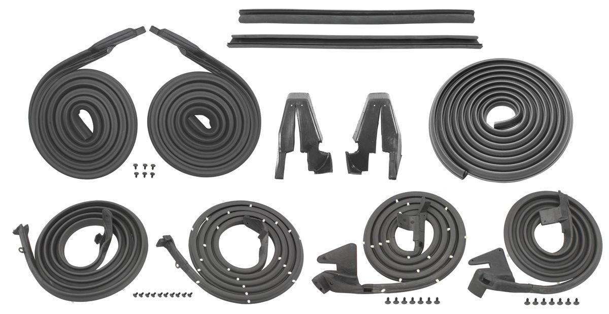 Seal Kit, 1963-64 Bonneville/Catalina Stage I, 4dr Hardtop