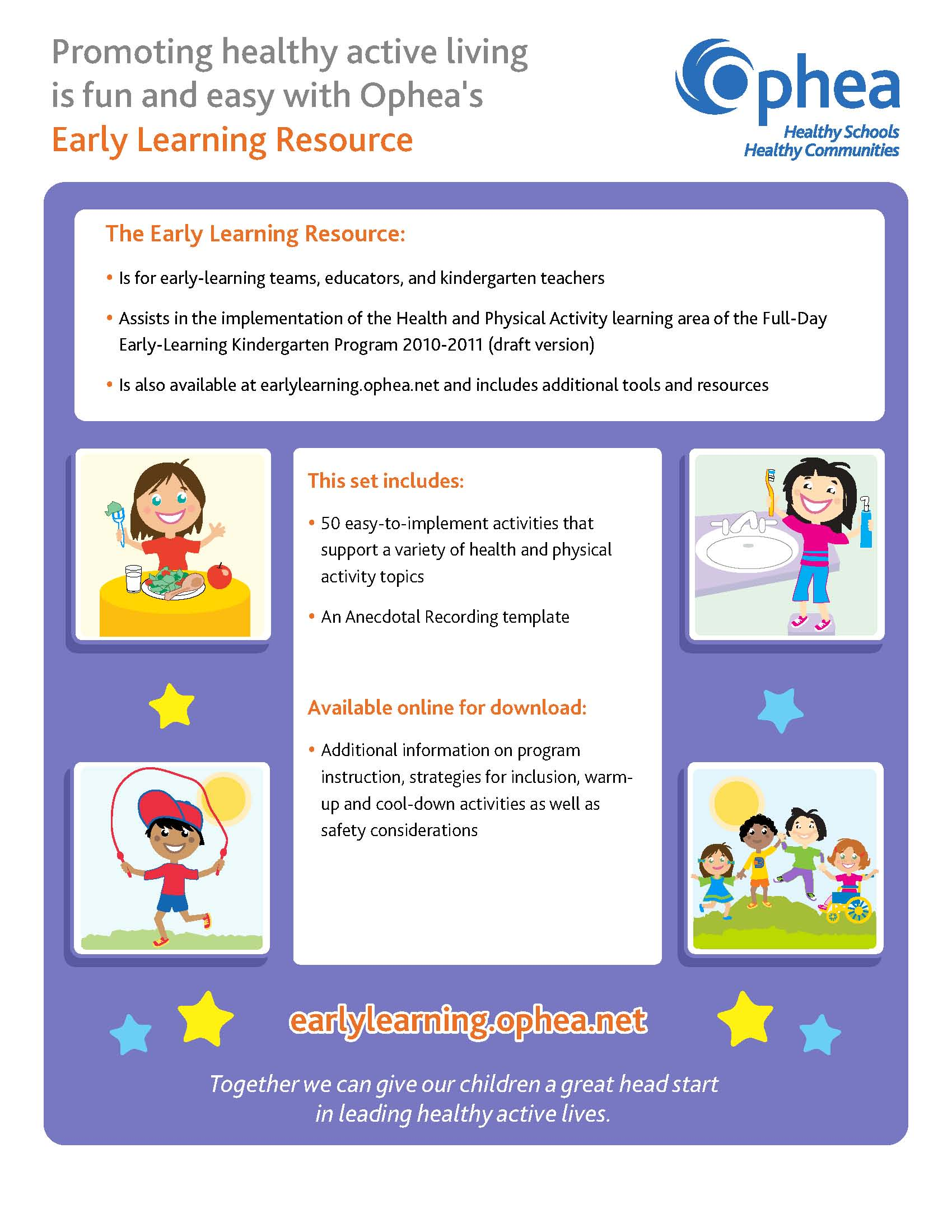 Early Learning Activity Cards
