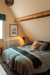 Slaapkamer van Bed & Breakfast Het Terphuis
