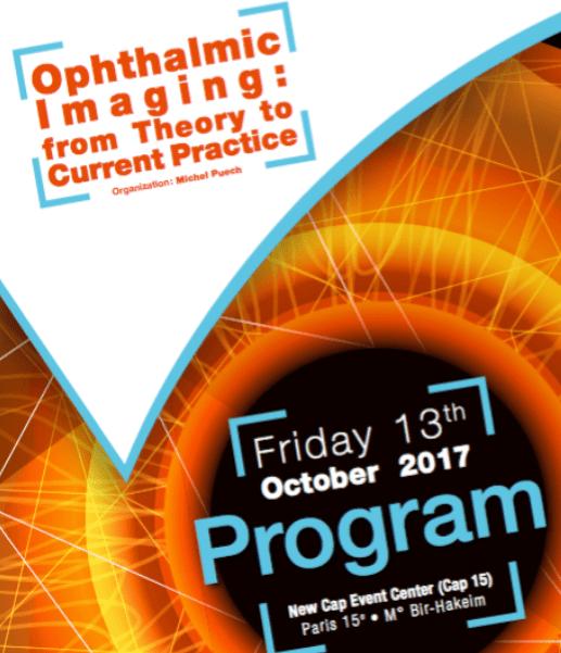 Optalmologic Imaging - Paris 13 octobre 2017