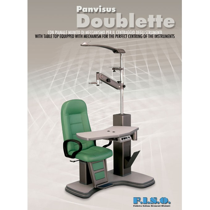 nidek chair and stand kids table chairs set fiso panvisus doublette unit ophthalmic malaysia big