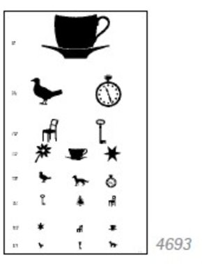 Visual Acuity Charts For Distance, Pictures for children