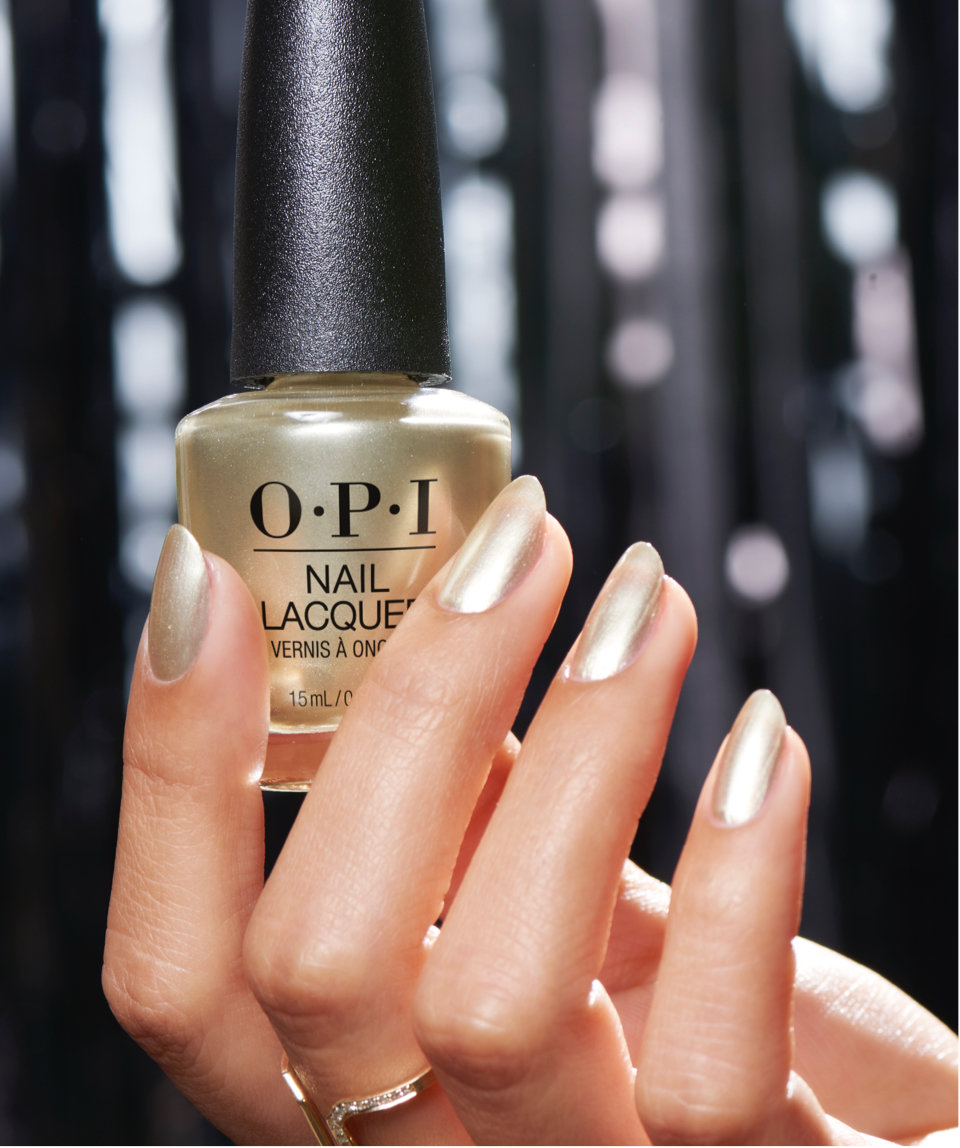 Opi Nail Lacquer Shade Thegiftofgoldnevergetsold