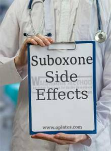 suboxone side effects