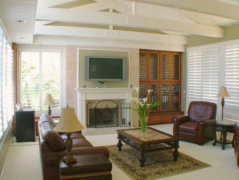 domus retreat medical detox recovery living room