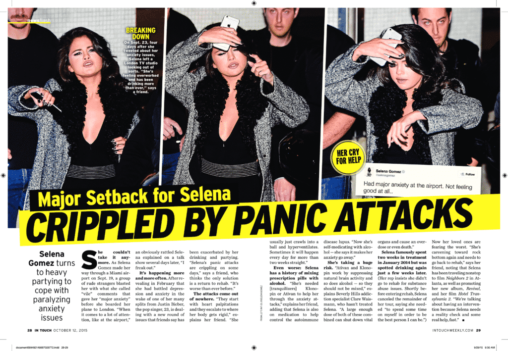 Selena Gomez Lupus article snippet