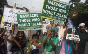 Kolkata protests by Muslim groups