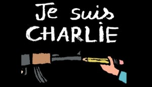 Je Suis Charlie drawing by Jean Julien