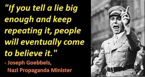 Big lie poster