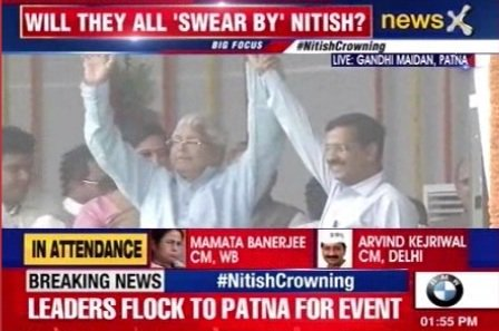 Arvind and Lalu