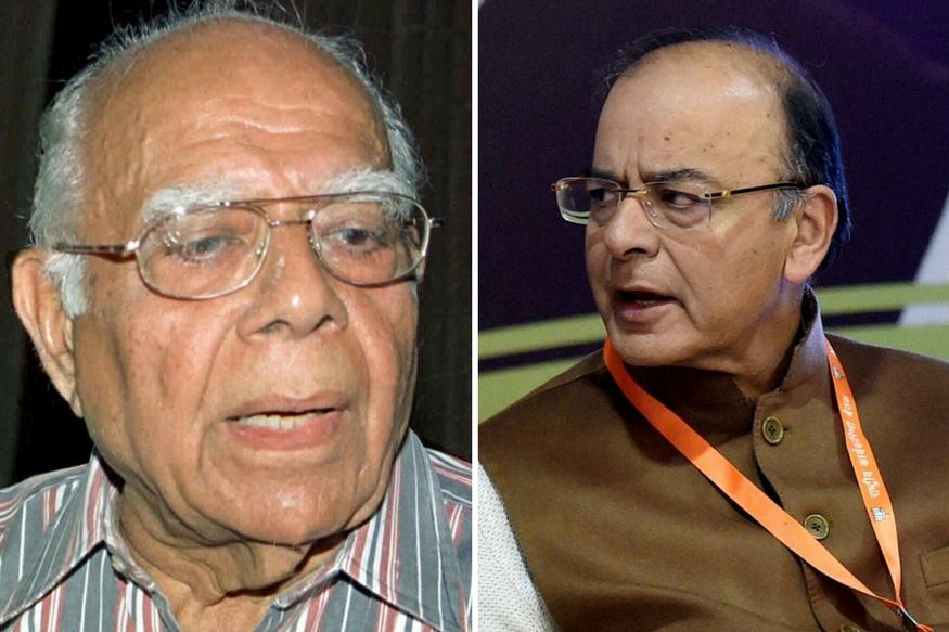 Some Hilarious moments from Ram Jethmalani's questioning of Arun Jaitley in Kejriwal defamation matter