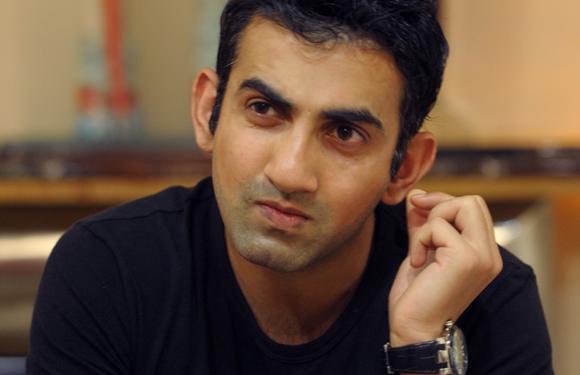Gautam Gambhir takes a dig at Shahid Afridi with