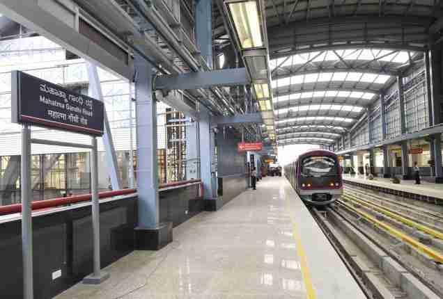 MG Road, Bangalore Metro Station