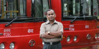 Uttam Khobragade, GM, BEST (Vikas Khot/Hindustan Times via Getty Images)