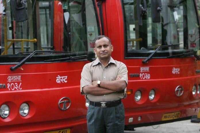 Uttam Khobragade, GM, BEST (Vikas Khot/Hindustan Times via Getty Images)